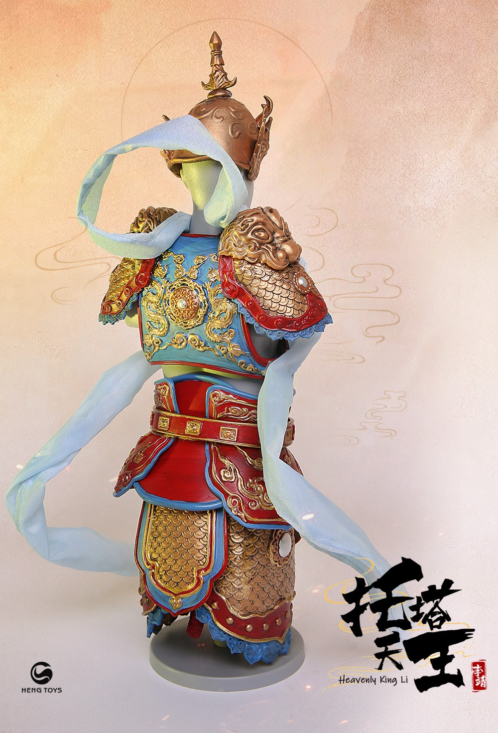 NEW PRODUCT: HENG TOYS: 1/6 Chinese Mythology Taoist Protector God Heavenly King Li, Li Tianwang action figure (PE-005) 14035910