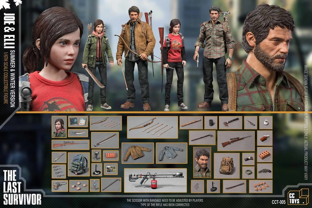 Videogame - NEW PRODUCT: CCTOYS CCT-005 Winter and Summer version 1/6 Scale Collectible figure Set 1405