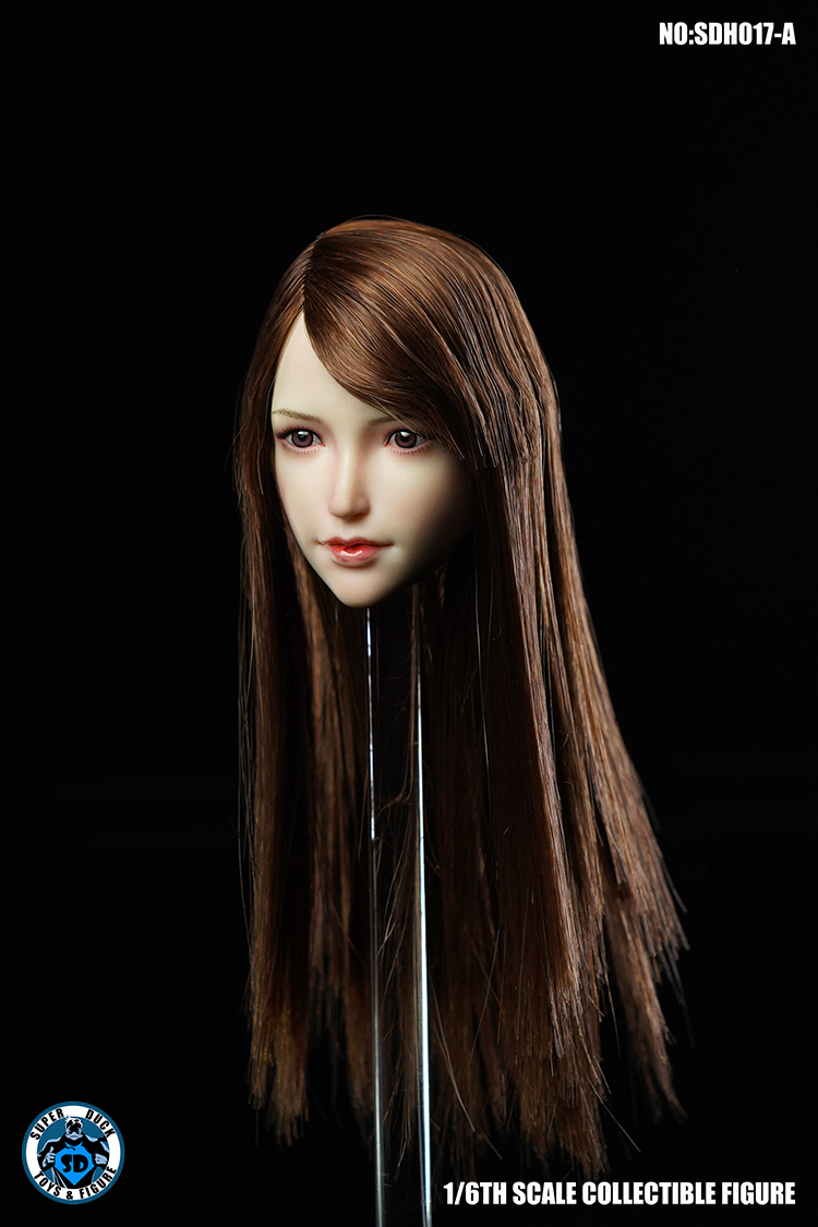 superduck - NEW PRODUCT: SUPER DUCK New product: 1/6 SDH017 Female head carving - ABC three models 1409