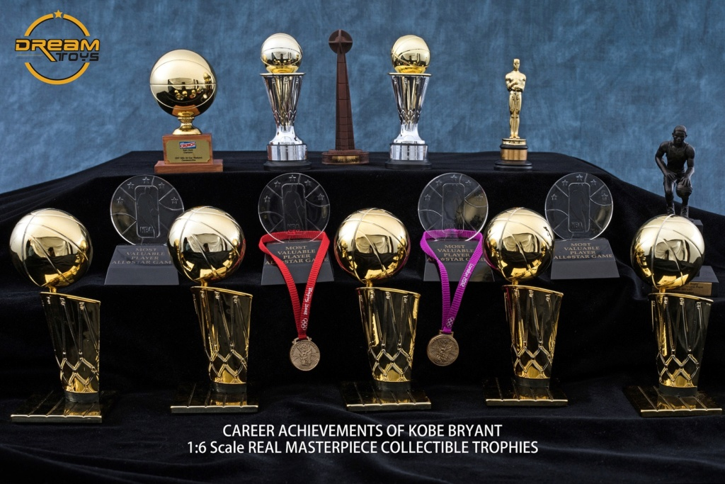 NEW PRODUCT: DREAMTOYS New: 1/6 MJ23 KB24 Jordan / Kobe - Honor Trophy Set 141