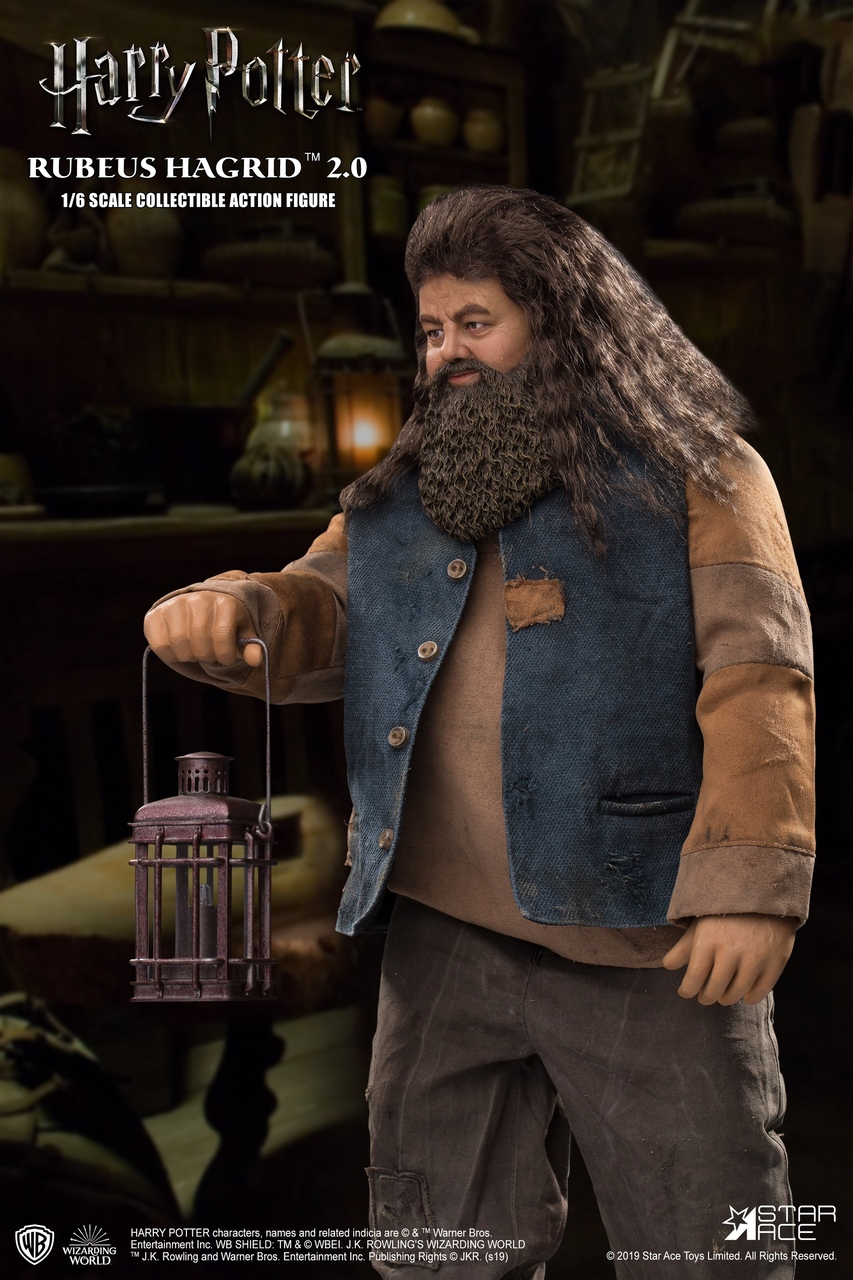 "male - NEW PRODUCT: StarAce Toys: 1/6 ""Harry Potter"" - Rubeus Hagrid / Luber Hager 2.0 (#SA0072) 14101110"