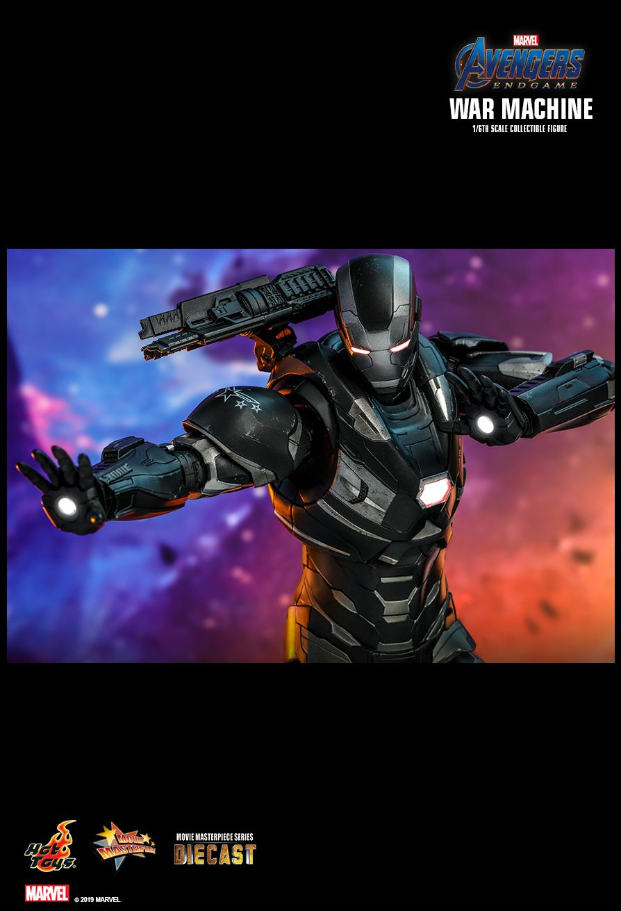 WarMachine - NEW PRODUCT: HOT TOYS: AVENGERS: ENDGAME WAR MACHINE 1/6TH SCALE COLLECTIBLE FIGURE 14111