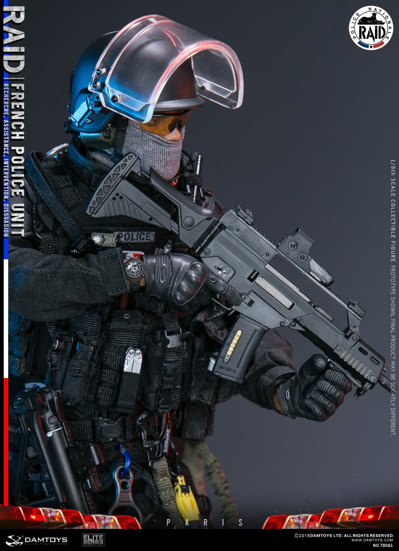 "DamToys - NEW PRODUCT: [DAM] DAMTOYS New: 1/6 French Special Police ""Black Panther / RAID"" Anti-Terrorism Commando - Paris (78061#) 14112010"