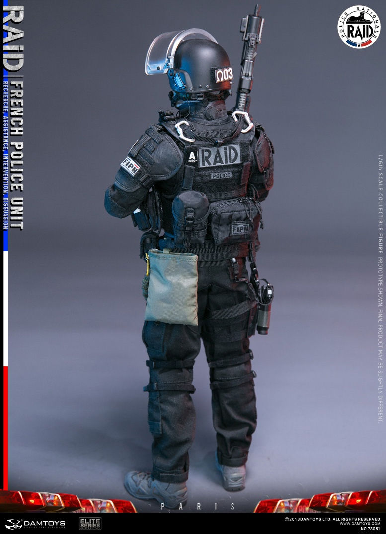 "DamToys - NEW PRODUCT: [DAM] DAMTOYS New: 1/6 French Special Police ""Black Panther / RAID"" Anti-Terrorism Commando - Paris (78061#) 14112110"