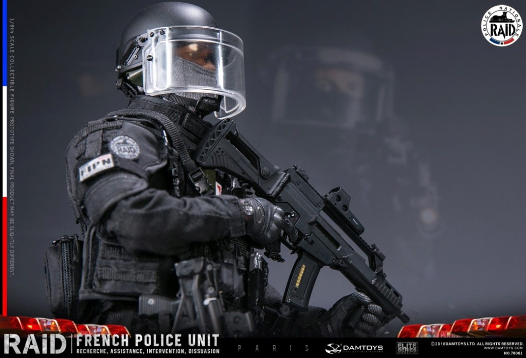 "DamToys - NEW PRODUCT: [DAM] DAMTOYS New: 1/6 French Special Police ""Black Panther / RAID"" Anti-Terrorism Commando - Paris (78061#) 14112810"