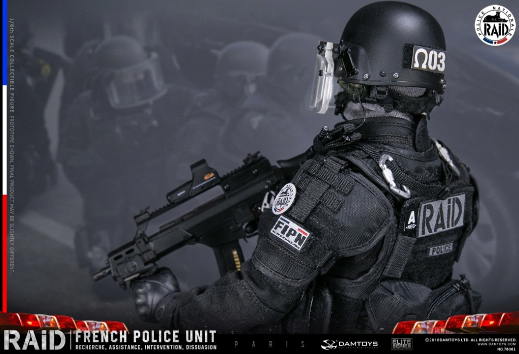 "DamToys - NEW PRODUCT: [DAM] DAMTOYS New: 1/6 French Special Police ""Black Panther / RAID"" Anti-Terrorism Commando - Paris (78061#) 14112911"