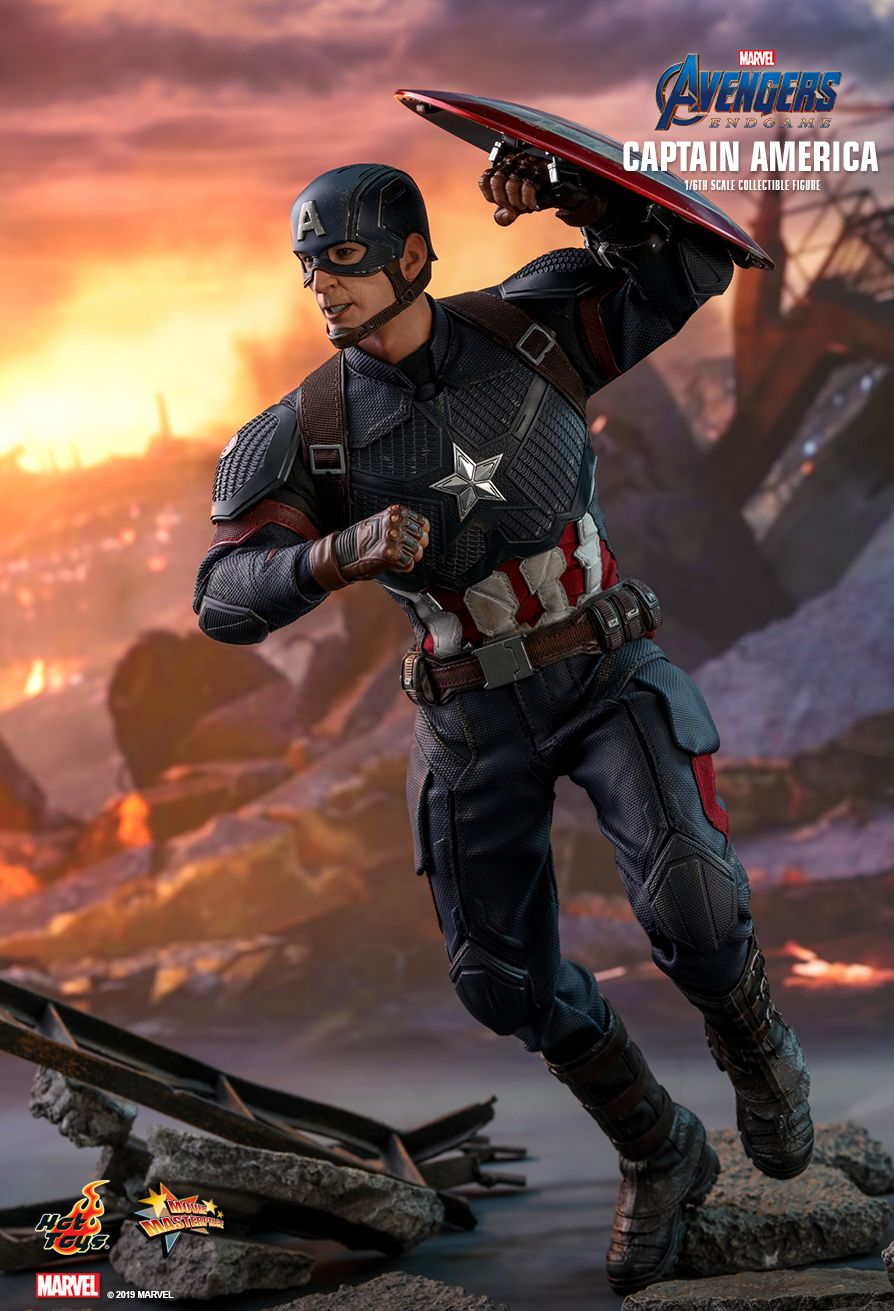 captainamerica - NEW PRODUCT: HOT TOYS: AVENGERS: ENDGAME CAPTAIN AMERICA 1/6TH SCALE COLLECTIBLE FIGURE 14116