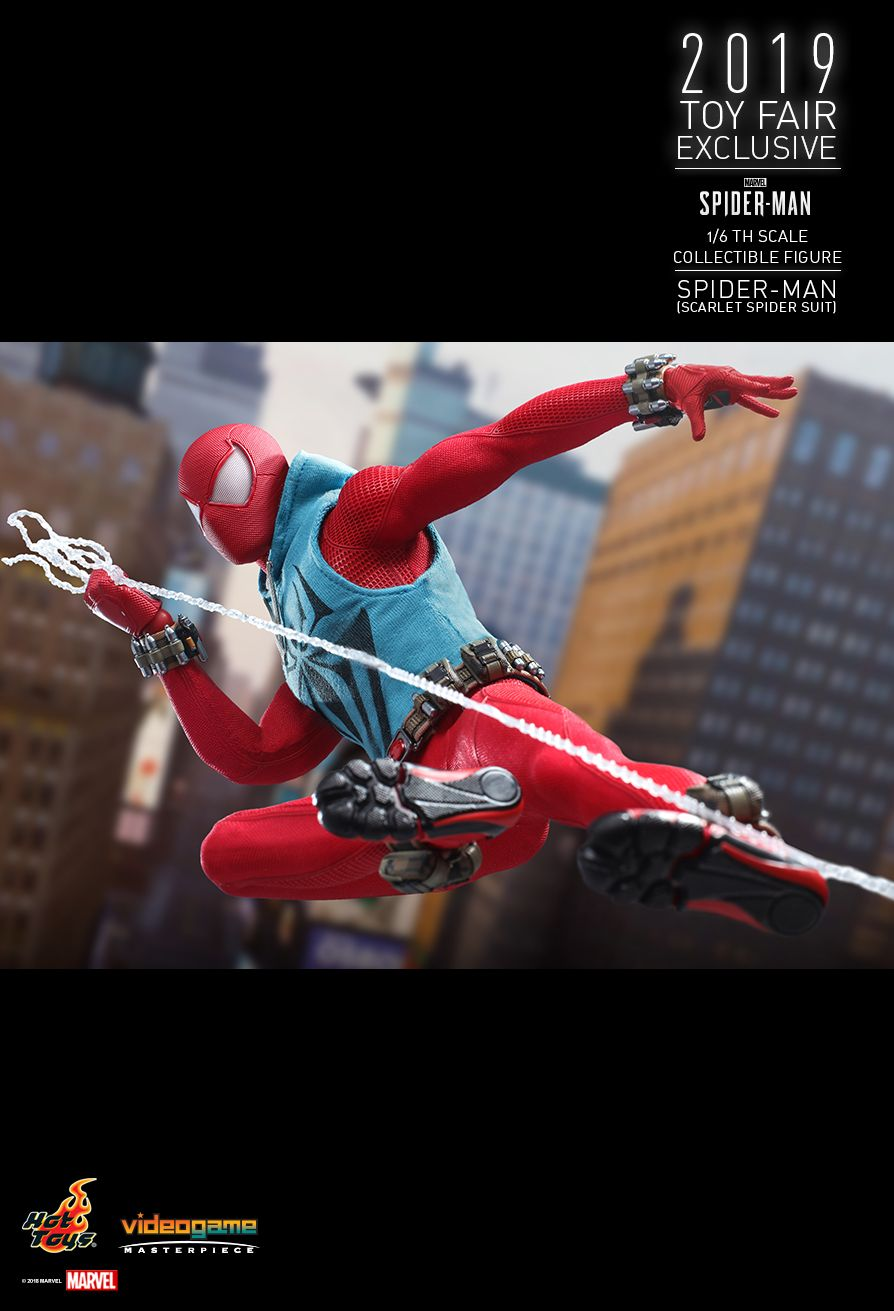 marvel - NEW PRODUCT: HOT TOYS: MARVEL'S SPIDER-MAN SPIDER-MAN (SCARLET SPIDER SUIT) 1/6TH SCALE COLLECTIBLE FIGURE 14125