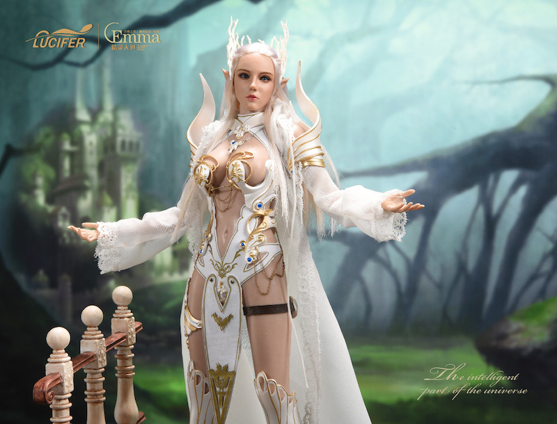 fantasy - NEW PRODUCT: [LXF-1904B] Elf Queen Emma Queen Version 1:6 Figure by Lucifer 14127