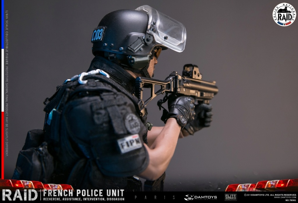"DamToys - NEW PRODUCT: [DAM] DAMTOYS New: 1/6 French Special Police ""Black Panther / RAID"" Anti-Terrorism Commando - Paris (78061#) 14140010"
