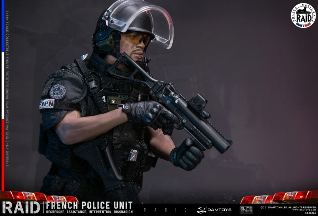 "DamToys - NEW PRODUCT: [DAM] DAMTOYS New: 1/6 French Special Police ""Black Panther / RAID"" Anti-Terrorism Commando - Paris (78061#) 14140011"