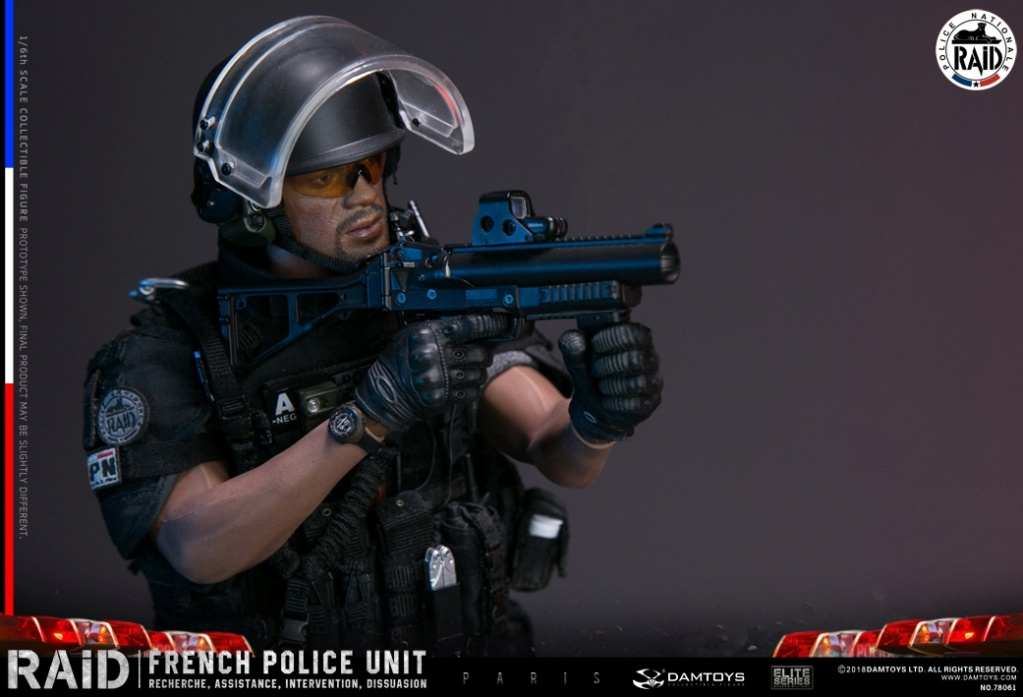 "DamToys - NEW PRODUCT: [DAM] DAMTOYS New: 1/6 French Special Police ""Black Panther / RAID"" Anti-Terrorism Commando - Paris (78061#) 14140110"