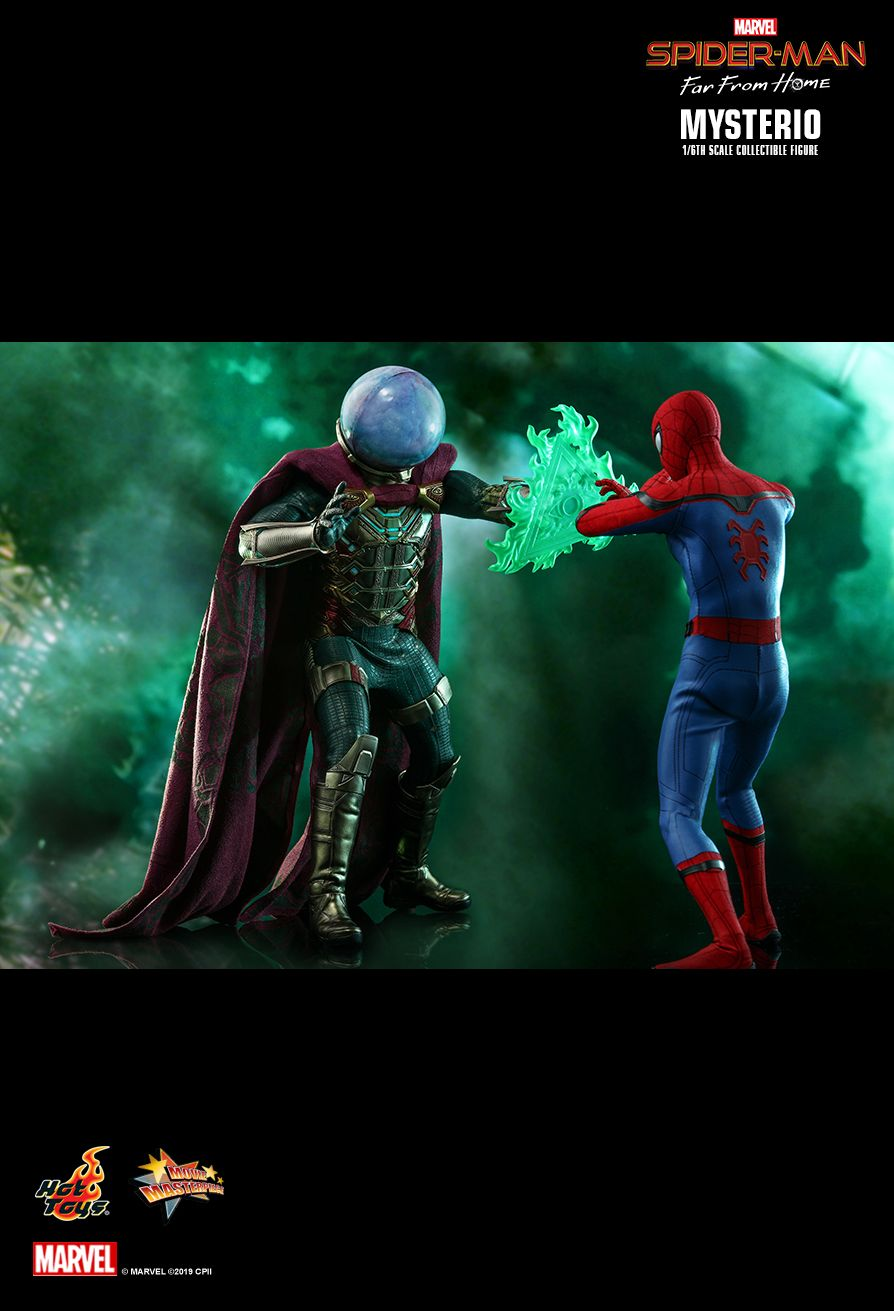 NEW PRODUCT: HOT TOYS: SPIDER-MAN: FAR FROM HOME MYSTERIO 1/6TH SCALE COLLECTIBLE FIGURE 14144