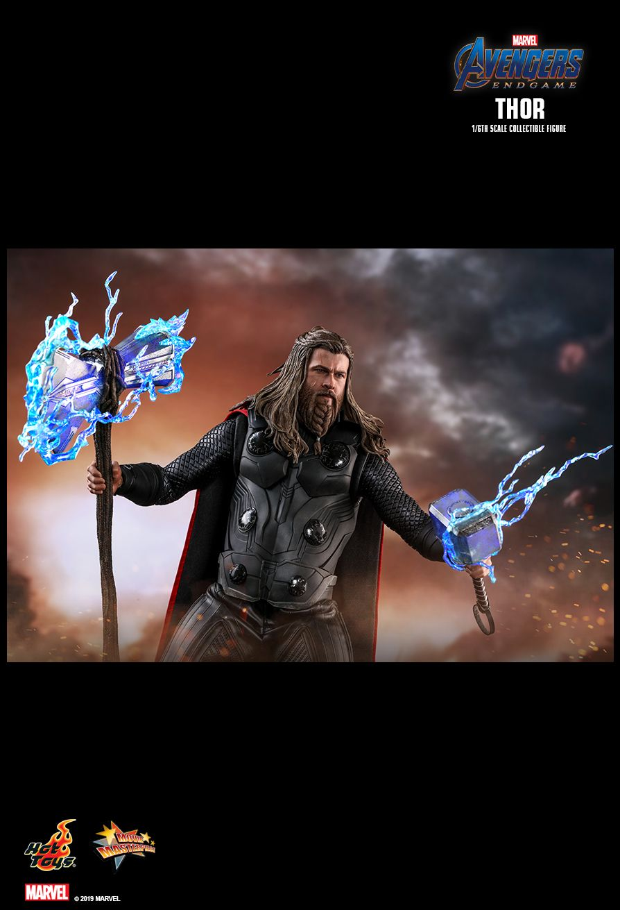 male - NEW PRODUCT: HOT TOYS: AVENGERS: ENDGAME THOR 1/6TH SCALE COLLECTIBLE FIGURE 14150