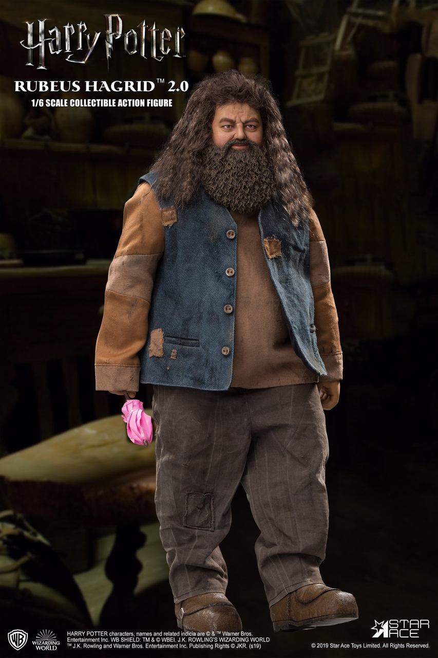 "male - NEW PRODUCT: StarAce Toys: 1/6 ""Harry Potter"" - Rubeus Hagrid / Luber Hager 2.0 (#SA0072) 14150410"