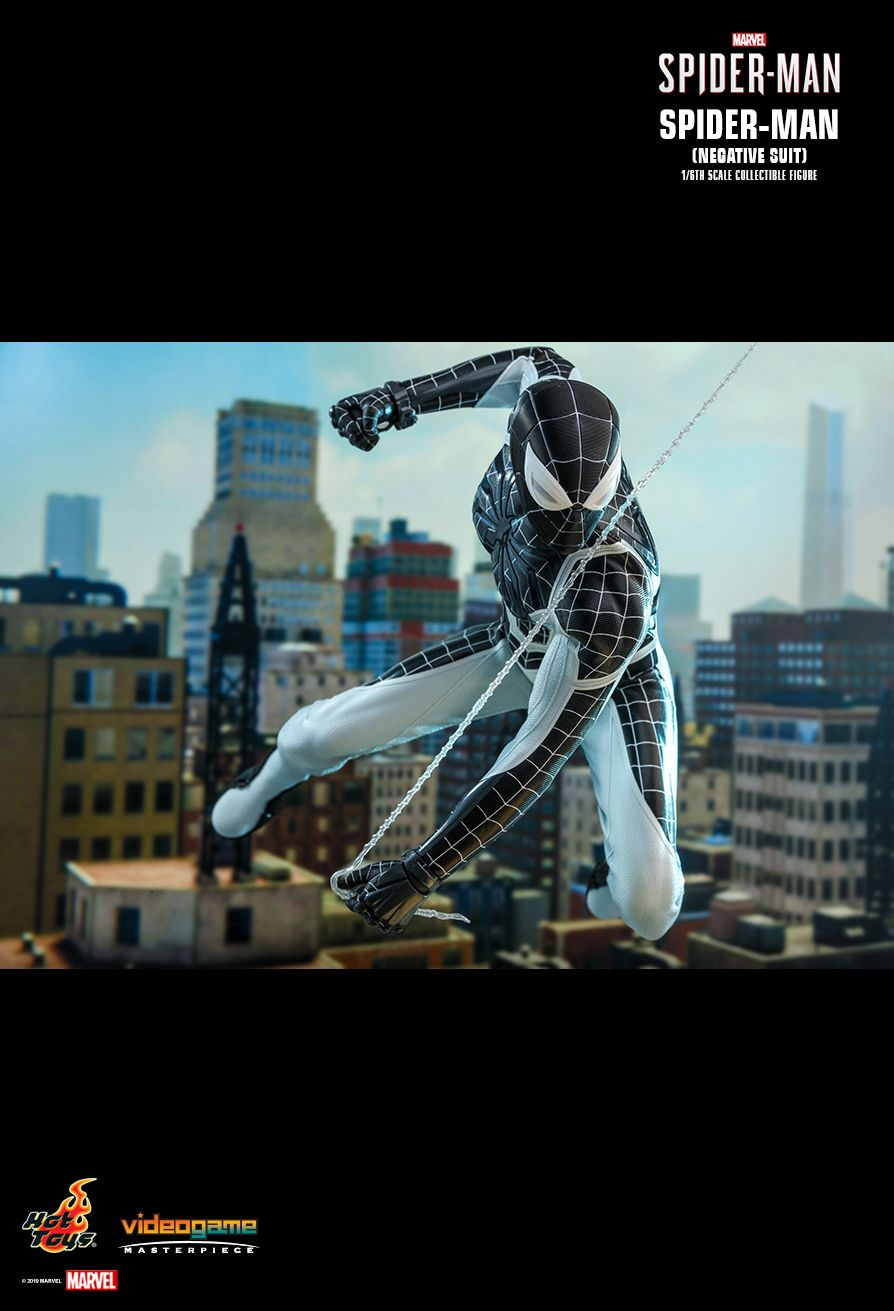 Spider-Man - NEW PRODUCT: HOT TOYS: MARVEL'S SPIDER-MAN SPIDER-MAN (NEGATIVE SUIT) 1/6TH SCALE COLLECTIBLE FIGURE (EXCLUSIVE EDITION) 14154