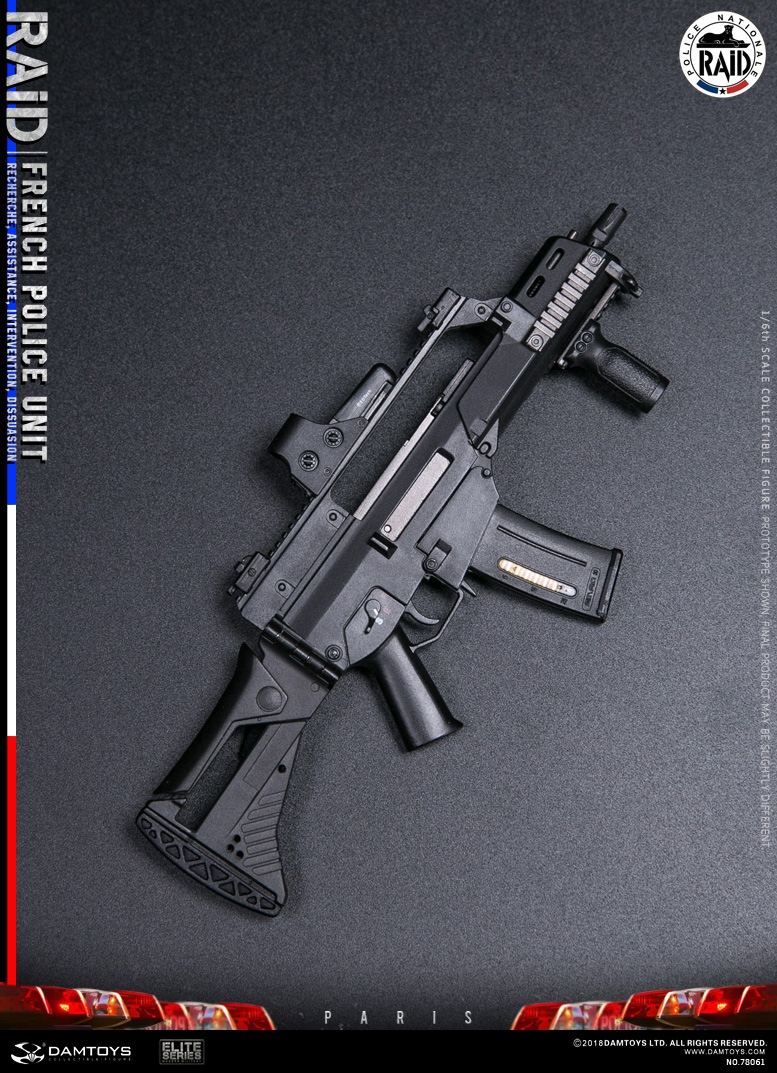 "DamToys - NEW PRODUCT: [DAM] DAMTOYS New: 1/6 French Special Police ""Black Panther / RAID"" Anti-Terrorism Commando - Paris (78061#) 14160910"