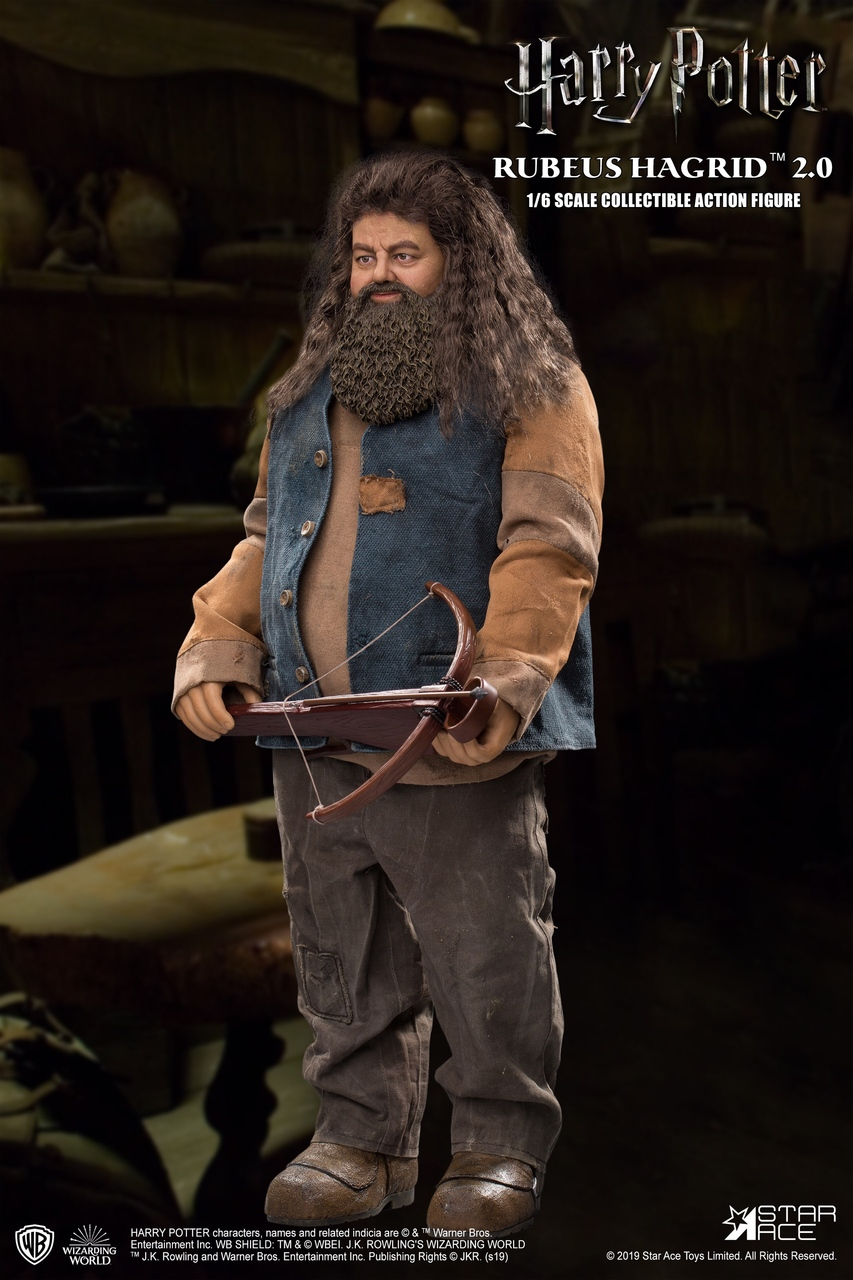 "male - NEW PRODUCT: StarAce Toys: 1/6 ""Harry Potter"" - Rubeus Hagrid / Luber Hager 2.0 (#SA0072) 14170110"