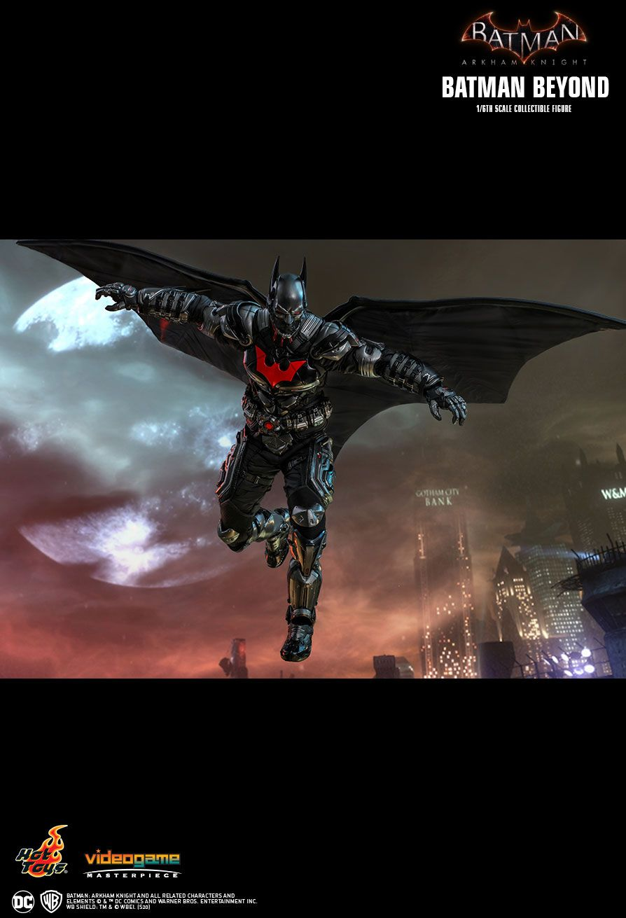 videogame - NEW PRODUCT: HOT TOYS: BATMAN: ARKHAM KNIGHT BATMAN BEYOND 1/6TH SCALE COLLECTIBLE FIGURE 14175