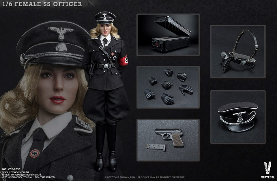VeryCool - NEW PRODUCT: VERYCOOL VCF-2036 1/6 SS Female Officer 1418