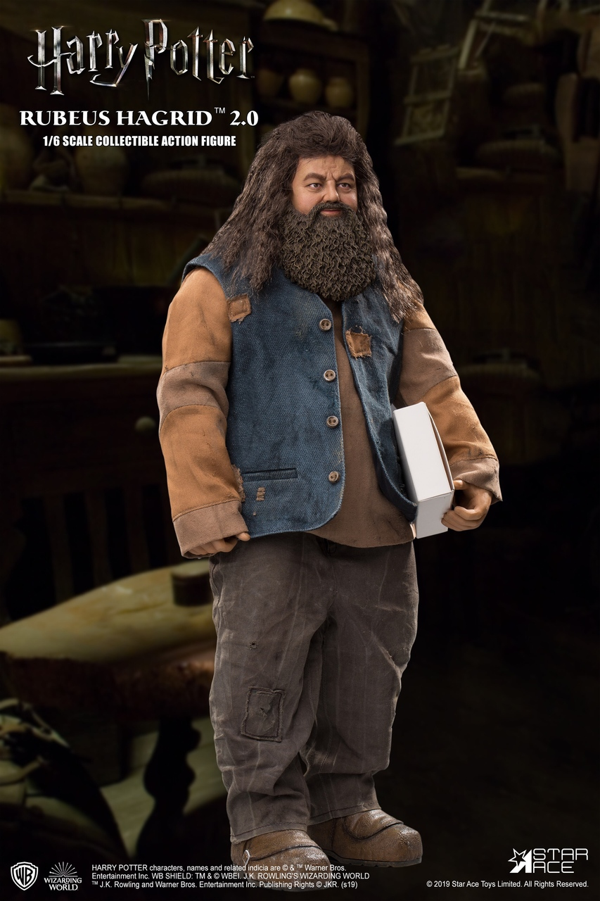"male - NEW PRODUCT: StarAce Toys: 1/6 ""Harry Potter"" - Rubeus Hagrid / Luber Hager 2.0 (#SA0072) 14185710"