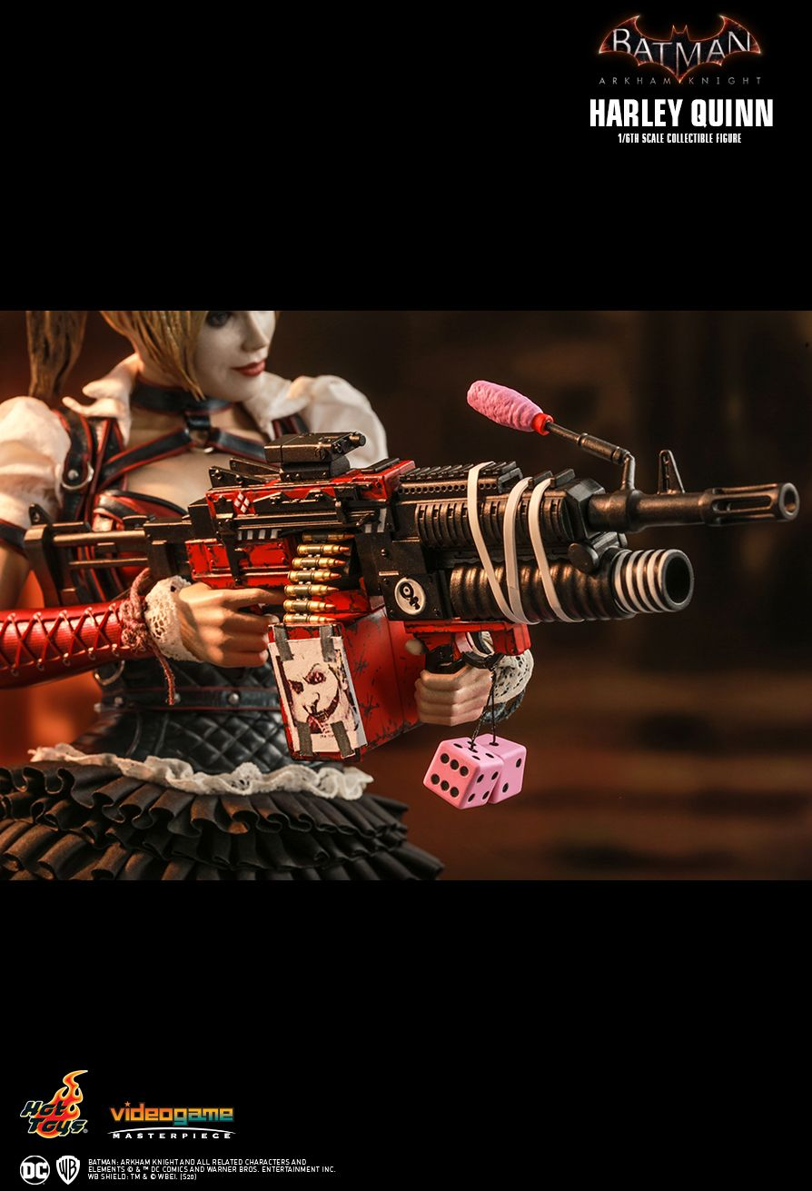 HarleyQuinn - NEW PRODUCT: HOT TOYS: BATMAN: ARKHAM KNIGHT HARLEY QUINN 1/6TH SCALE COLLECTIBLE FIGURE 14187