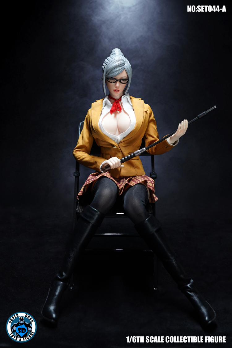 superduck - NEW PRODUCT: SUPER DUCK: 1/6 COSPLAY - Blasting Royal Sisters Head Set (SET044-A & B) 14195110