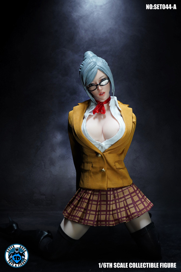 superduck - NEW PRODUCT: SUPER DUCK: 1/6 COSPLAY - Blasting Royal Sisters Head Set (SET044-A & B) 14195810