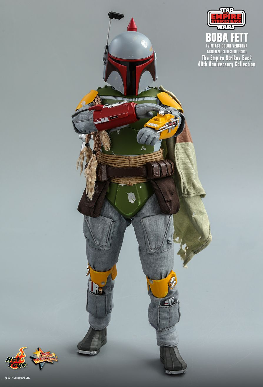 sci-fi - NEW PRODUCT: HOT TOYS: STAR WARS: THE EMPIRE STRIKES BACK™ BOBA FETT™ (VINTAGE COLOR VERSION) (40TH ANNIVERSARY COLLECTION) 1/6TH SCALE COLLECTIBLE FIGURE 14198