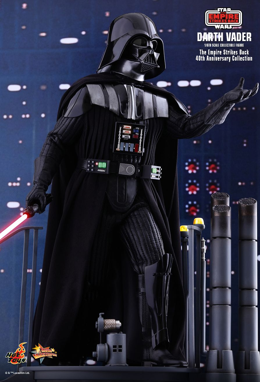 40thAnniversaryCollection - NEW PRODUCT: HOT TOYS: STAR WARS: THE EMPIRE STRIKES BACK™ DARTH VADER™ (40TH ANNIVERSARY COLLECTION) 1/6TH SCALE COLLECTIBLE FIGURE 14199