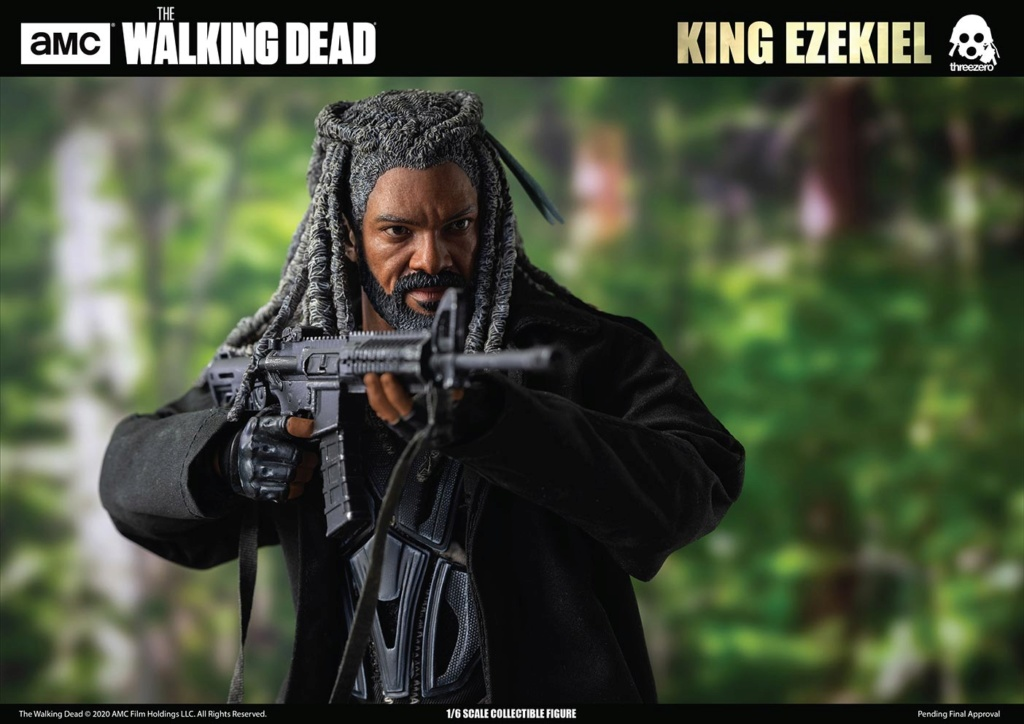 walkingdead - NEW PRODUCT: Threezero: The Walking Dead – 1/6 King Ezekiel 14219