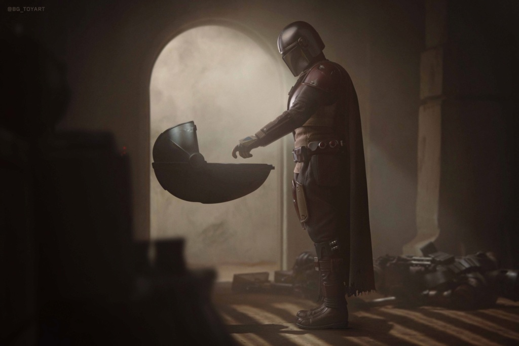 NEW PRODUCT: HOT TOYS: THE MANDALORIAN -- THE MANDALORIAN 1/6TH SCALE COLLECTIBLE FIGURE 14222