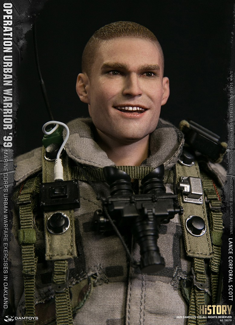 MarineCorps - NEW PRODUCT: DAMToys: 1/6 '99 City Warrior Operation-Marine Corps Oakland City Battle Exercise - Lance Corporal Scott #78079 14225