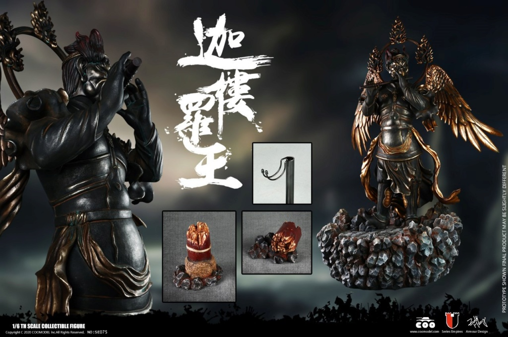 military - NEW PRODUCT: CooModel: 1/6 alloy die-casting-black iron iron and lion shape to make a carcass foot (Legend Edition)/Galuda King (Scene Platform) 14240210