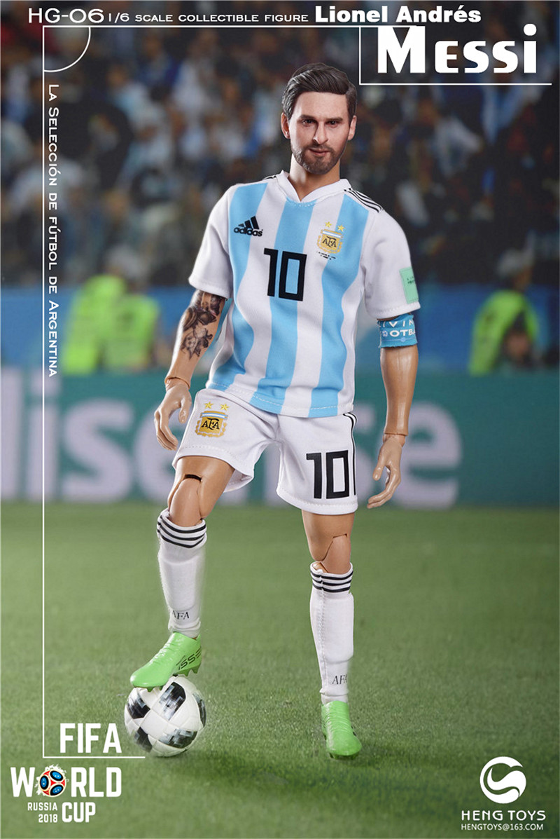 athlete - NEW PRODUCT: HENG TOYS: 1/6 HG-06 2018 World Cup - Messi 14351210
