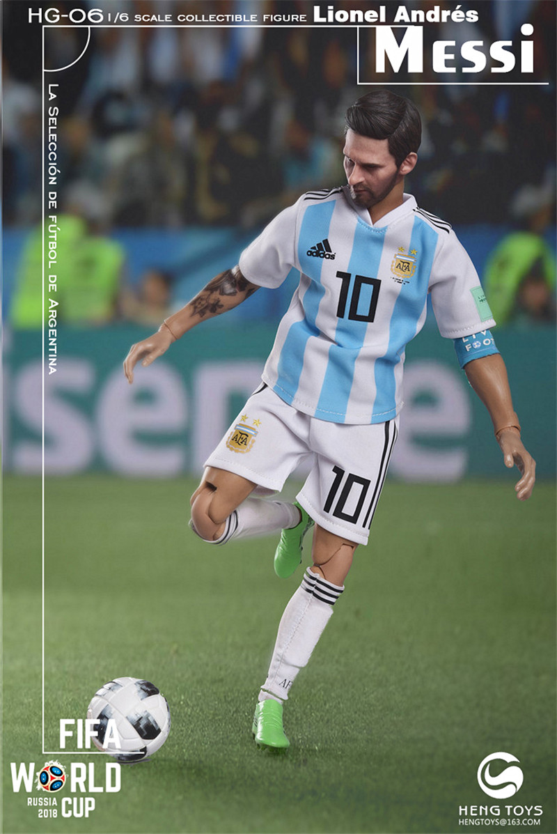 athlete - NEW PRODUCT: HENG TOYS: 1/6 HG-06 2018 World Cup - Messi 14351310