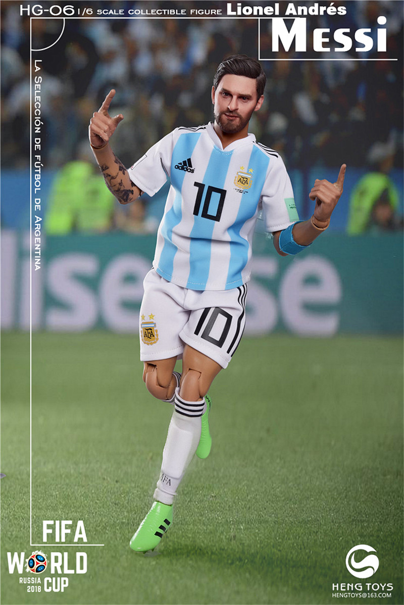 athlete - NEW PRODUCT: HENG TOYS: 1/6 HG-06 2018 World Cup - Messi 14351410