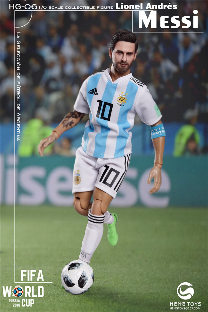 athlete - NEW PRODUCT: HENG TOYS: 1/6 HG-06 2018 World Cup - Messi 14352910