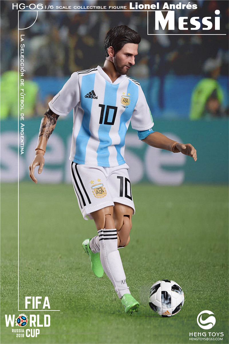 athlete - NEW PRODUCT: HENG TOYS: 1/6 HG-06 2018 World Cup - Messi 14354510