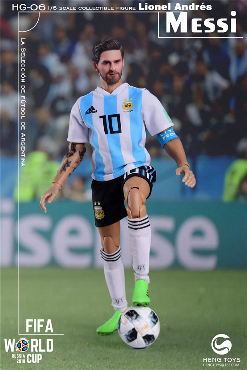 athlete - NEW PRODUCT: HENG TOYS: 1/6 HG-06 2018 World Cup - Messi 14354710