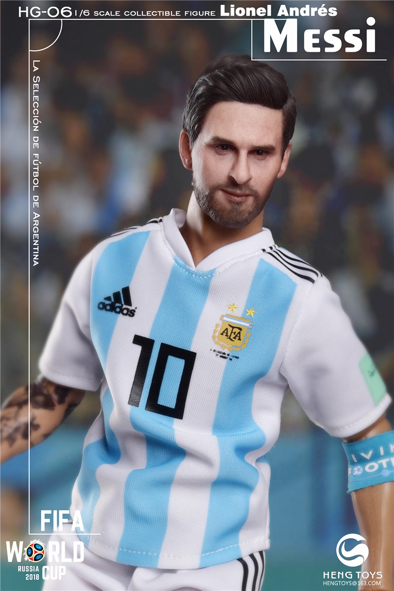 athlete - NEW PRODUCT: HENG TOYS: 1/6 HG-06 2018 World Cup - Messi 14354810