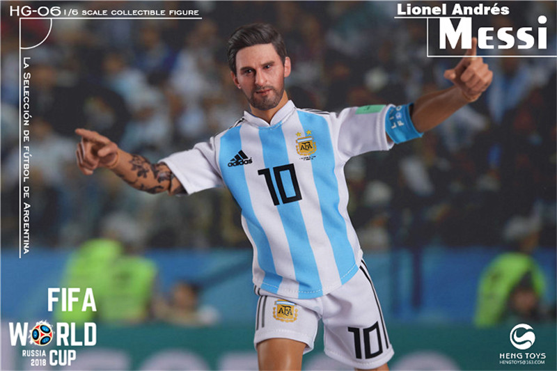 athlete - NEW PRODUCT: HENG TOYS: 1/6 HG-06 2018 World Cup - Messi 14355010