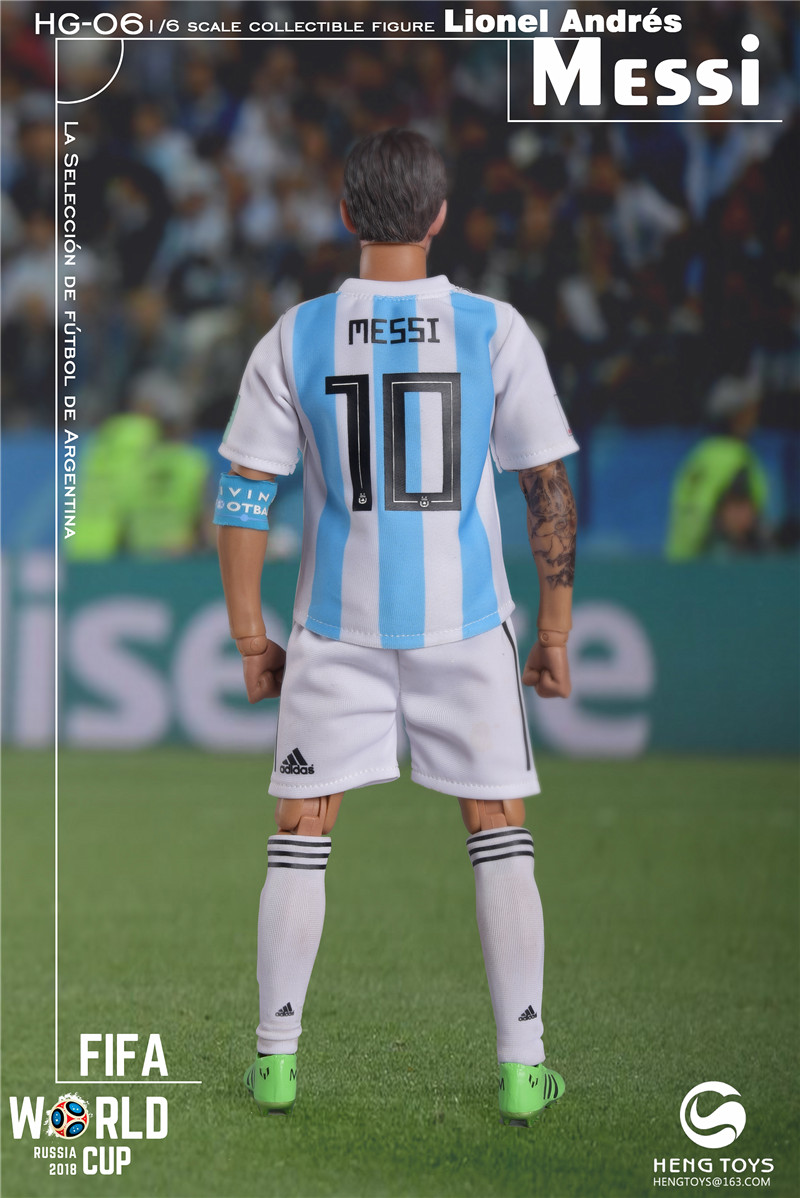 athlete - NEW PRODUCT: HENG TOYS: 1/6 HG-06 2018 World Cup - Messi 14355011