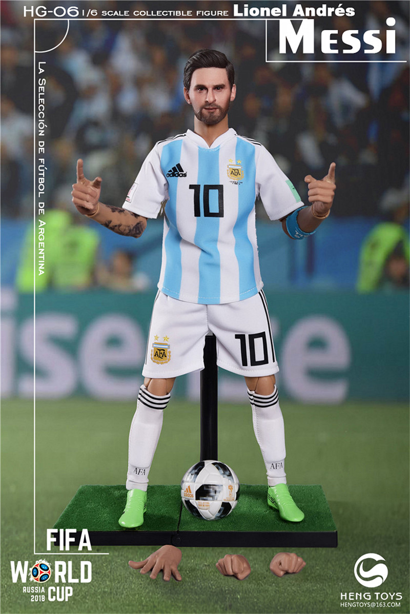 athlete - NEW PRODUCT: HENG TOYS: 1/6 HG-06 2018 World Cup - Messi 14362210