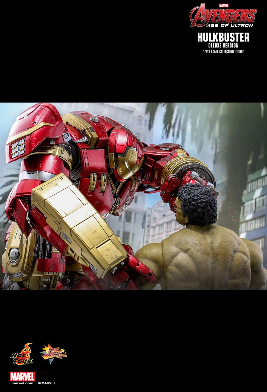 NEW PRODUCT: HOT TOYS: AVENGERS: AGE OF ULTRON HULKBUSTER (DELUXE VERSION) 1/6TH SCALE COLLECTIBLE FIGURE 1445