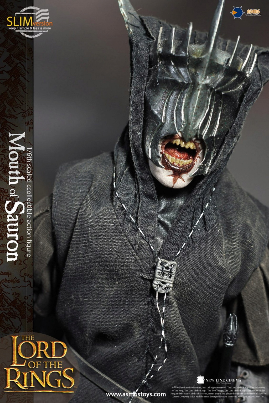 "NEW PRODUCT: Asmus Toys: 1/6 ""The Lord of the Rings"" - MOUTH OF SAURON Slim Version (LOTR009s) 14451810"
