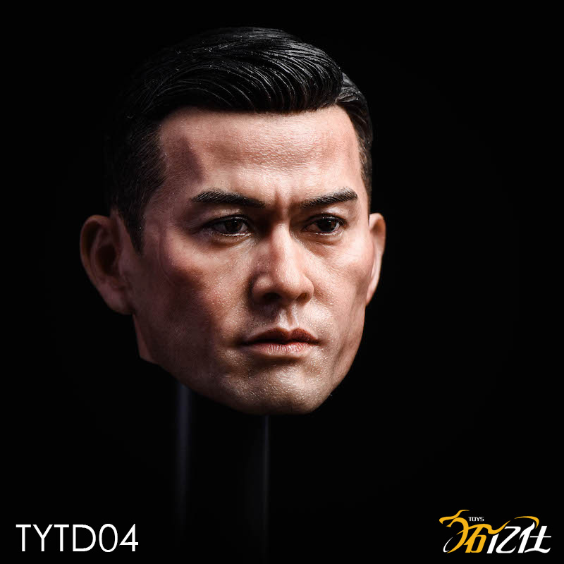 NEW PRODUCT: Tuo Yi Shi: 1/6 Shanghai Beach Daxie - Bodhidharma Asian male head carving TYTD04 14472510