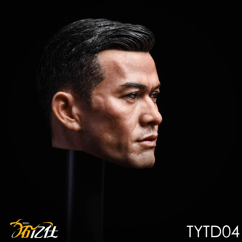 NEW PRODUCT: Tuo Yi Shi: 1/6 Shanghai Beach Daxie - Bodhidharma Asian male head carving TYTD04 14472610