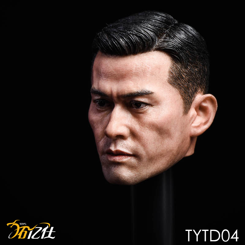 NEW PRODUCT: Tuo Yi Shi: 1/6 Shanghai Beach Daxie - Bodhidharma Asian male head carving TYTD04 14472810