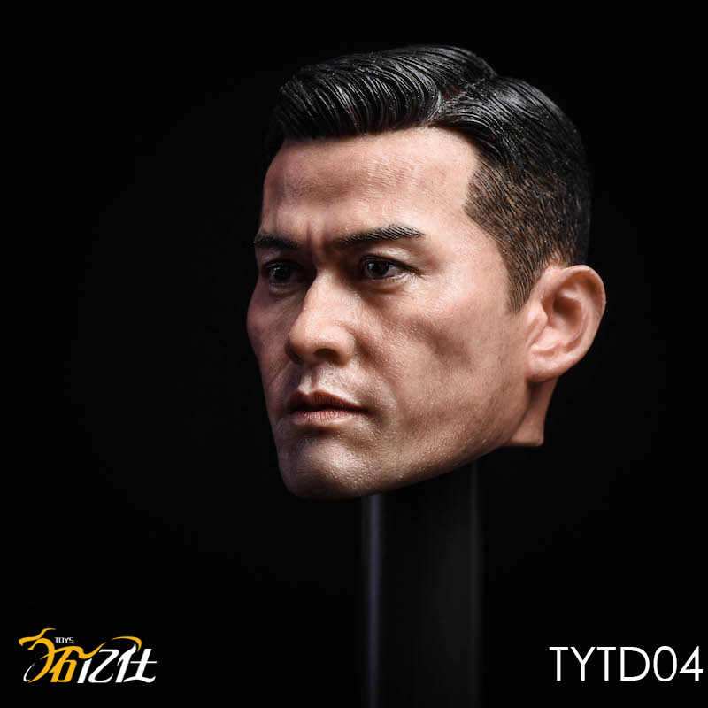 NEW PRODUCT: Tuo Yi Shi: 1/6 Shanghai Beach Daxie - Bodhidharma Asian male head carving TYTD04 14472811